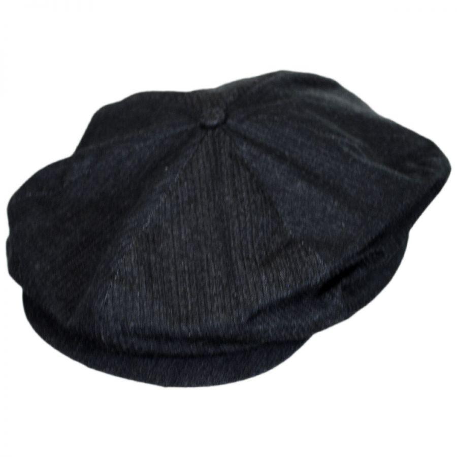 cd6b9bffbb18b ... new zealand brixton hats ollie cotton newsboy cap e2dbf 02b87
