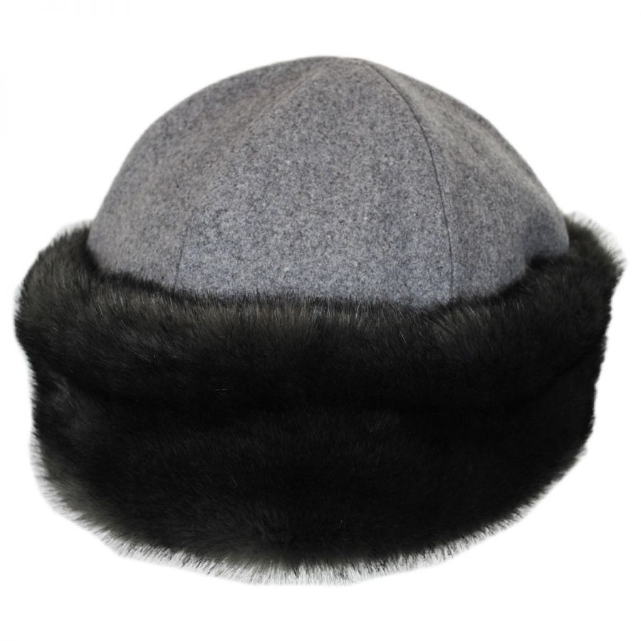 4faabe5fbd7220 ... coupon code for elaina wool and faux fur cap alternate view 1 8d7c8  ef5a2