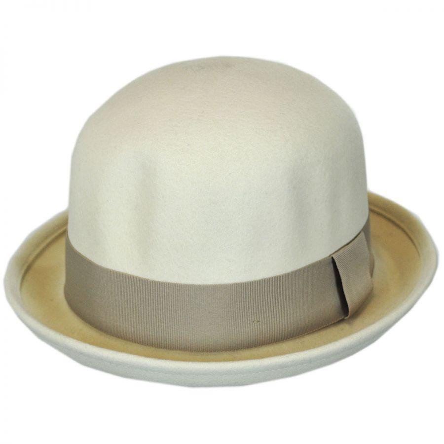 Brixton Hats Pack Wool Felt Bowler Hat Derby   Bowler Hats 394fbb3059d9