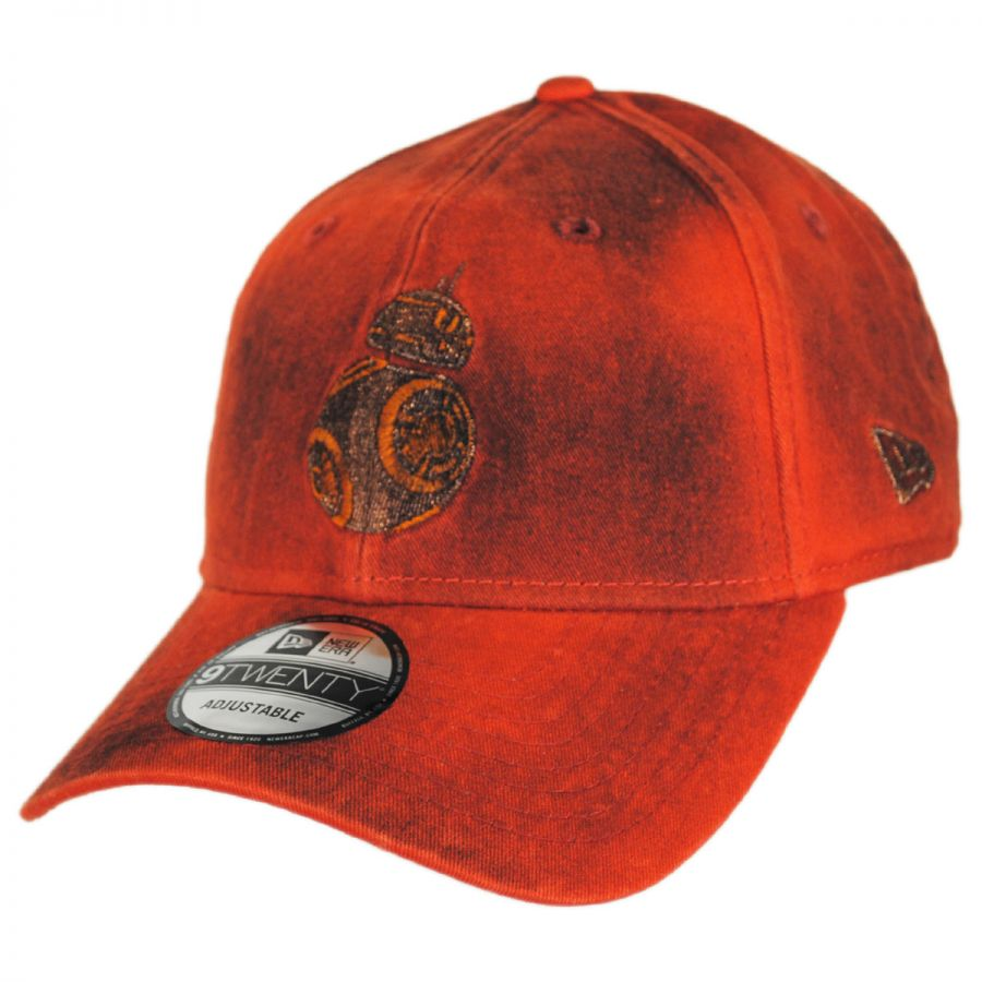New Era Star Wars BB-8 9Twenty Strapback Baseball Cap Dad Hat ... cceb029a736