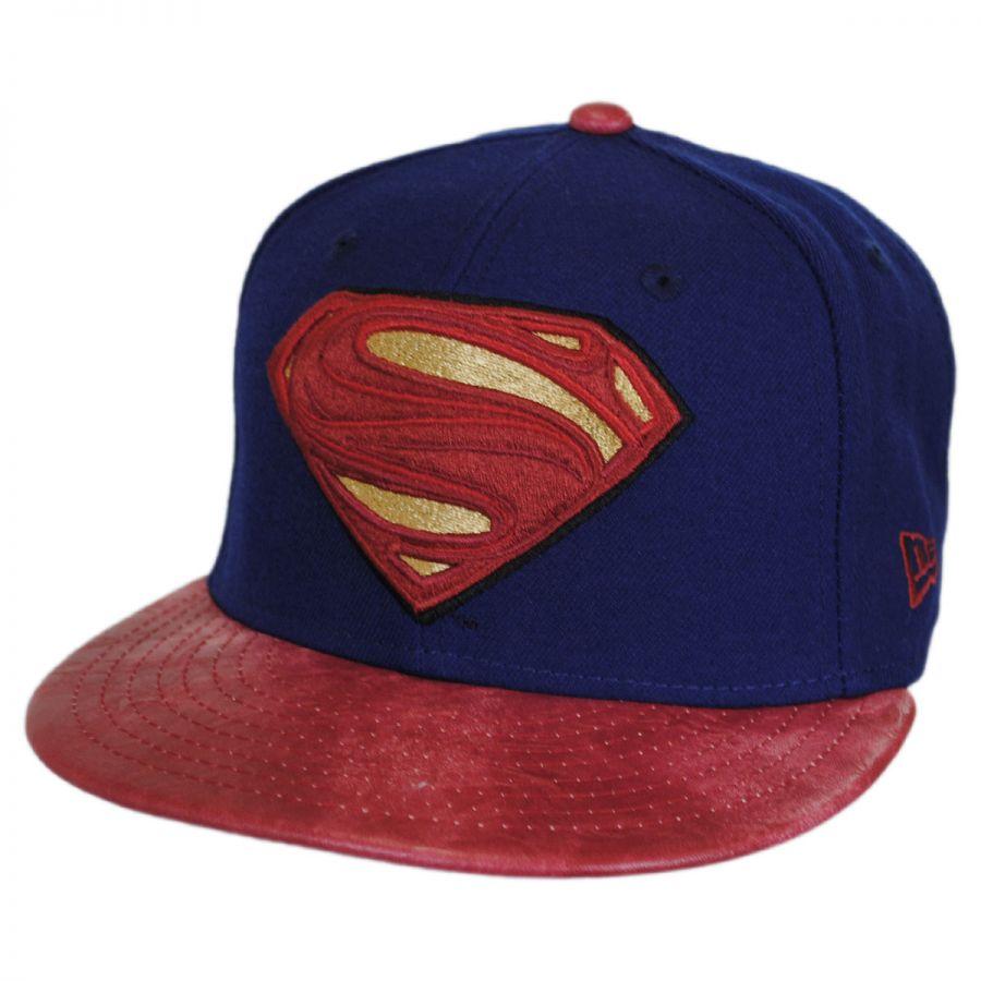 DC Comics Superman Justice League 9Fifty Snapback Baseball Cap alternate  view 1 14dccc34d34