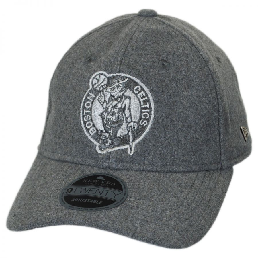 35205bab1a6 Boston Celtics NBA  Cashmere  9Twenty Strapback Baseball Cap Dad Hat  alternate view 1