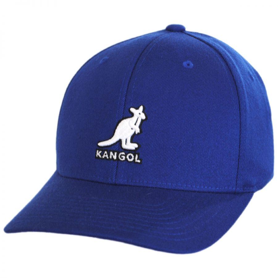 Kangol 3D Logo Flexfit Baseball Cap Fitted Baseball Caps 7294634a4c1