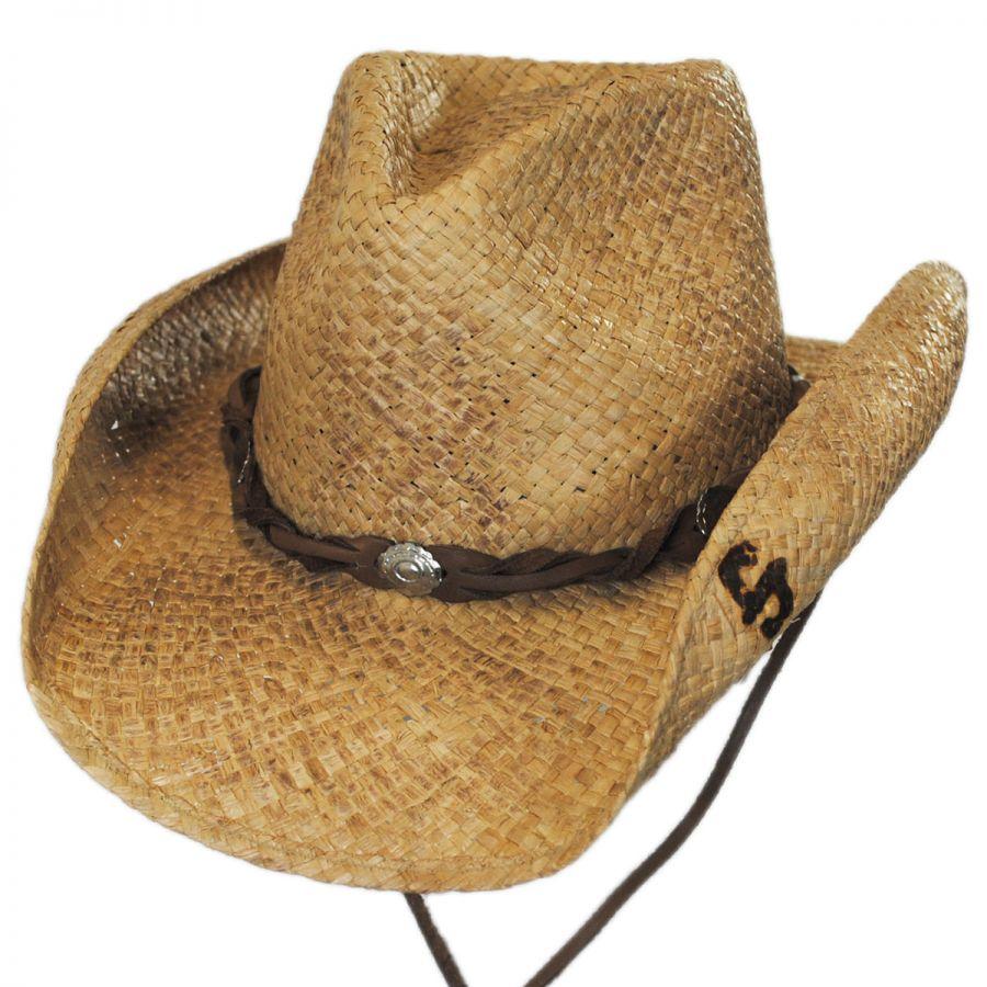 18eb6a6c3db Stetson Comstock Straw Western Hat Western Hats
