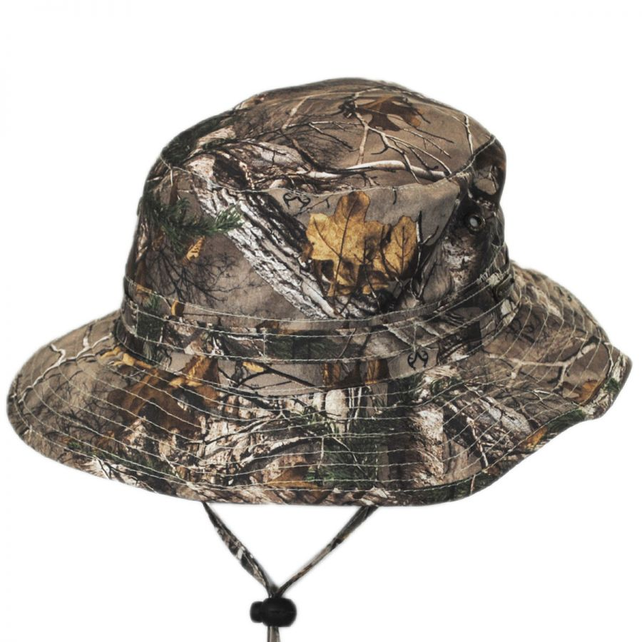 60d03843 Stetson NFZ Camo Boonie Hat Bucket Hats