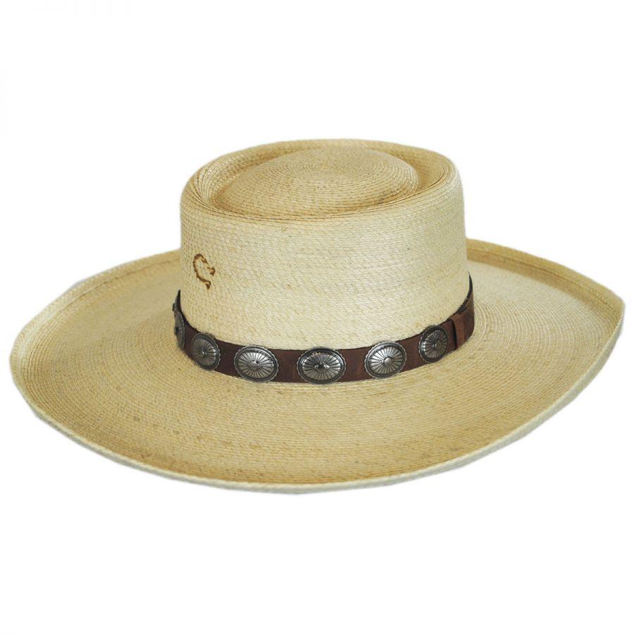 Charlie 1 Horse High Desert Palm Leaf Straw Plantation Hat Straw Hats 839f6f055fc
