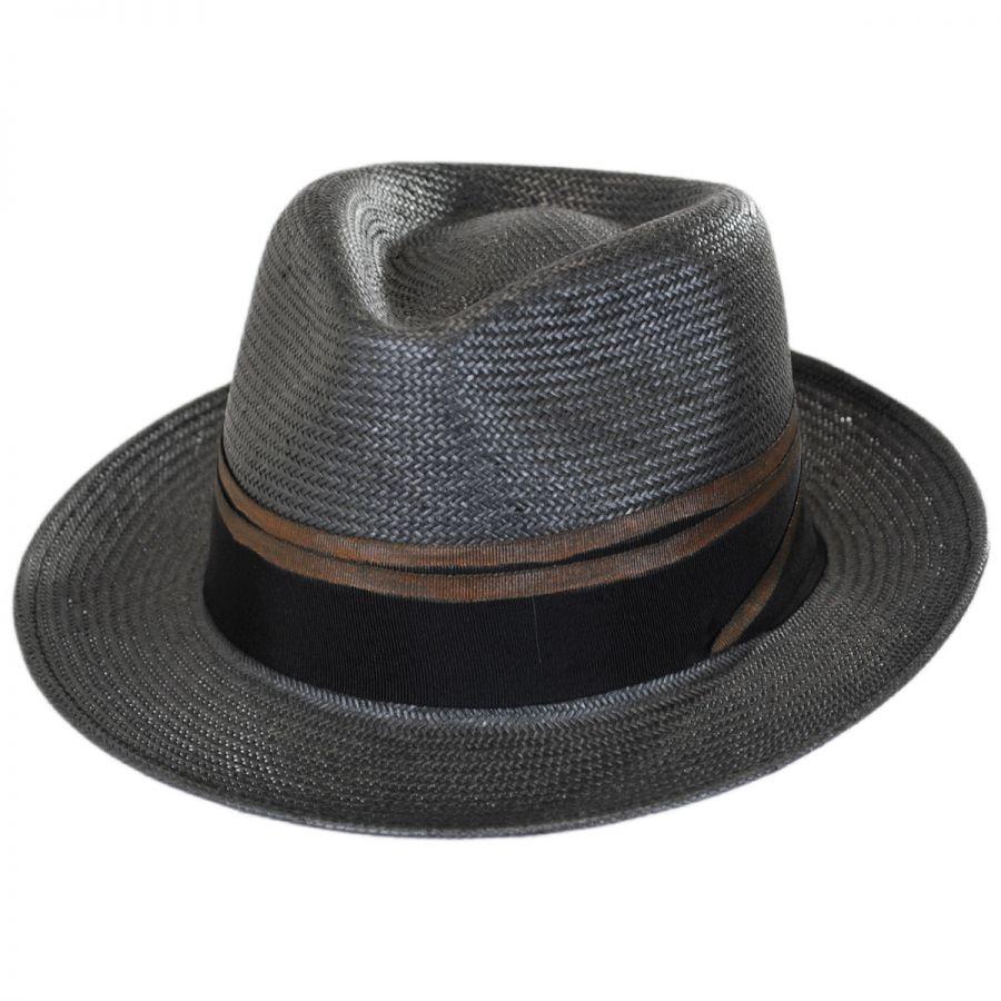 9c462c60 Brooklyn Hat Co Tribeca Toyo Straw Fedora Hat Straw Fedoras
