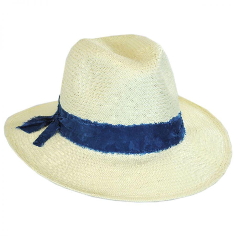 2f7d9523b Luca Toyo Straw Fedora Hat