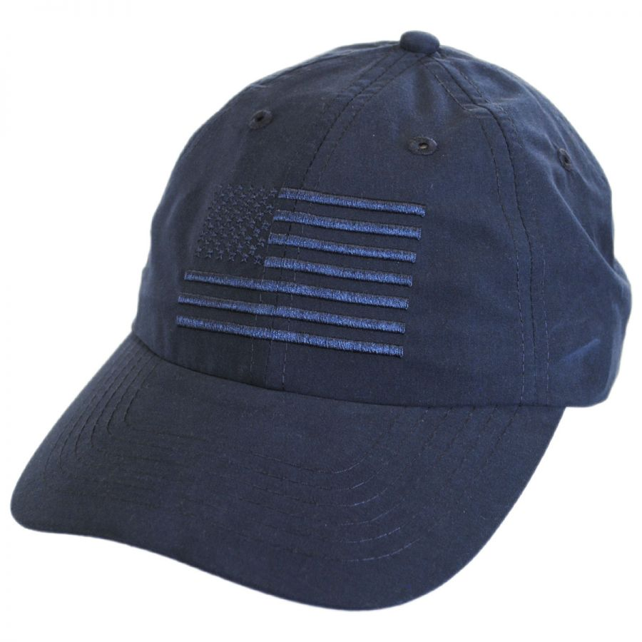 04d502d67f0 Dorfman Pacific Company US Flag Tonal Adjustable Baseball Cap All ...