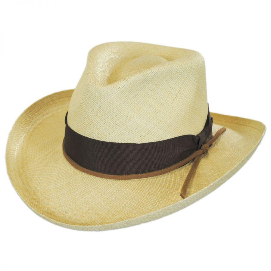 Stetson Double Down Panama Straw Fedora Hat Panama Hats f5b551750