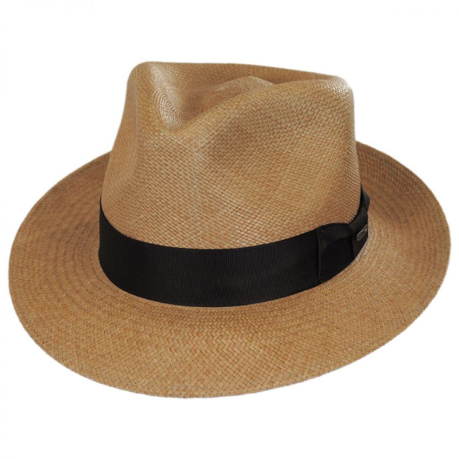 Stetson Aficionado Panama Straw Fedora Hat Panama Hats e18eb636081