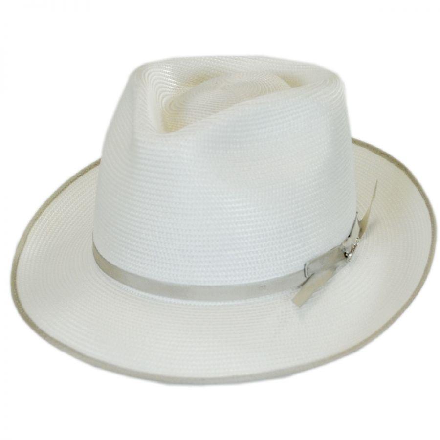 Stetson Stratoliner Milan Straw Fedora Hat All Fedoras c3d13785844