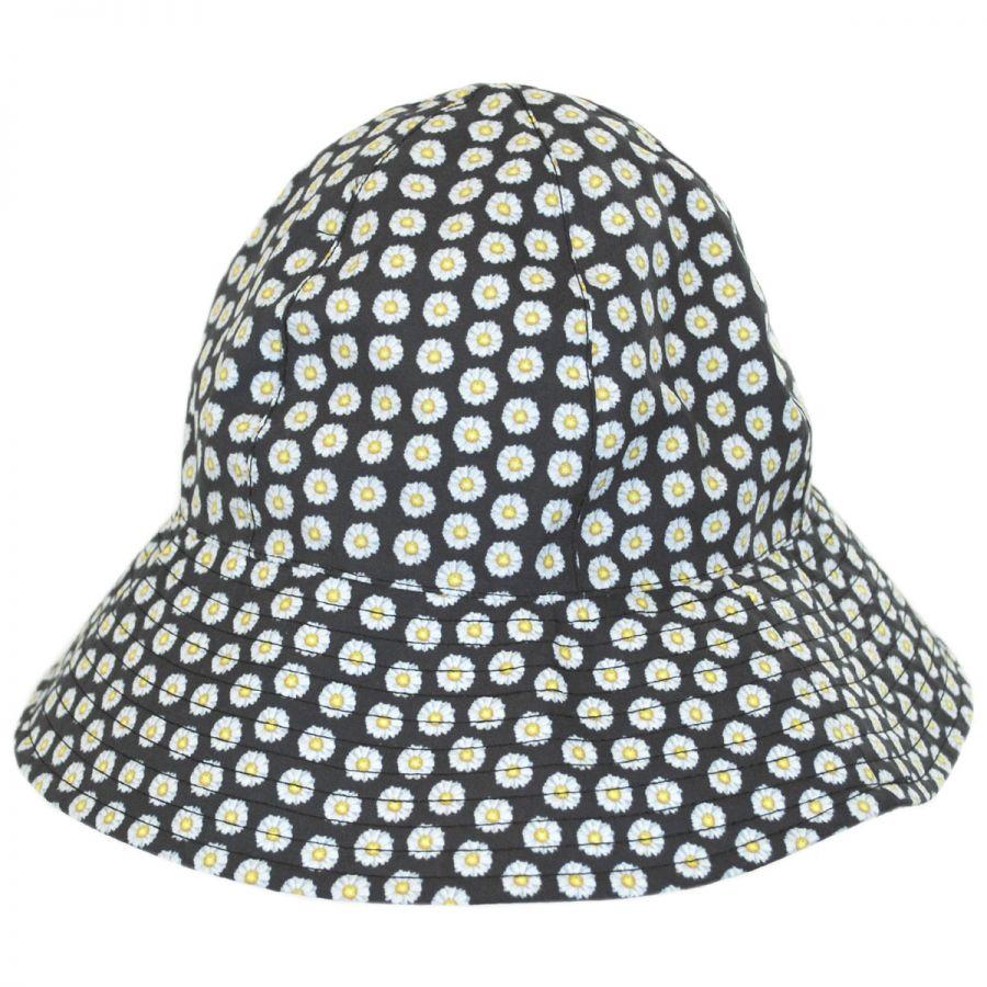 1f8f52b484fad San Diego Hat Company Daisy Rain Bucket Hat. Enlarge Image. Daisy Rain Bucket  Hat alternate view 1