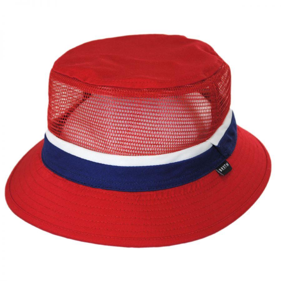 e2afdce18d60a Brixton Hats Kids  Lil Hardy Cotton  n Mesh Bucket Hat Boys