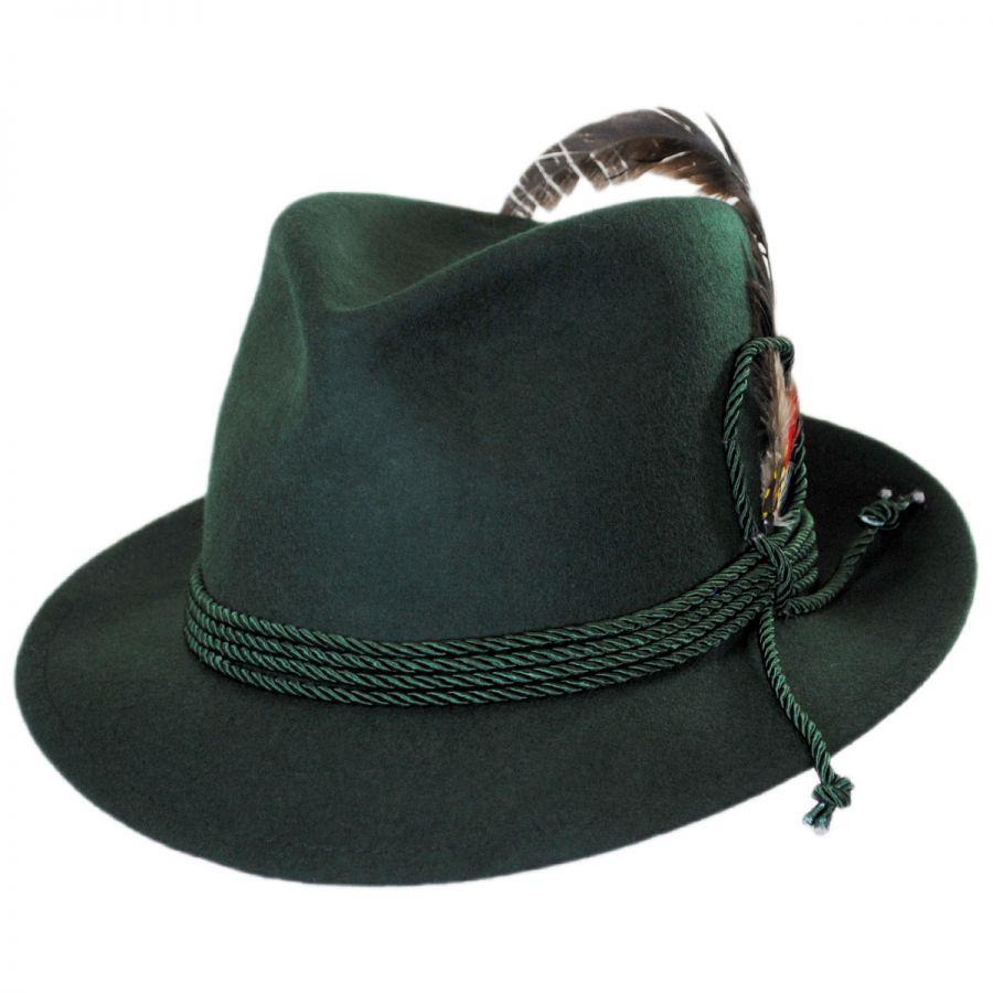 Jaxon Hats Made in the USA - Classics Bavarian Wool Felt Hat Stingy ... 38ecf63edb4
