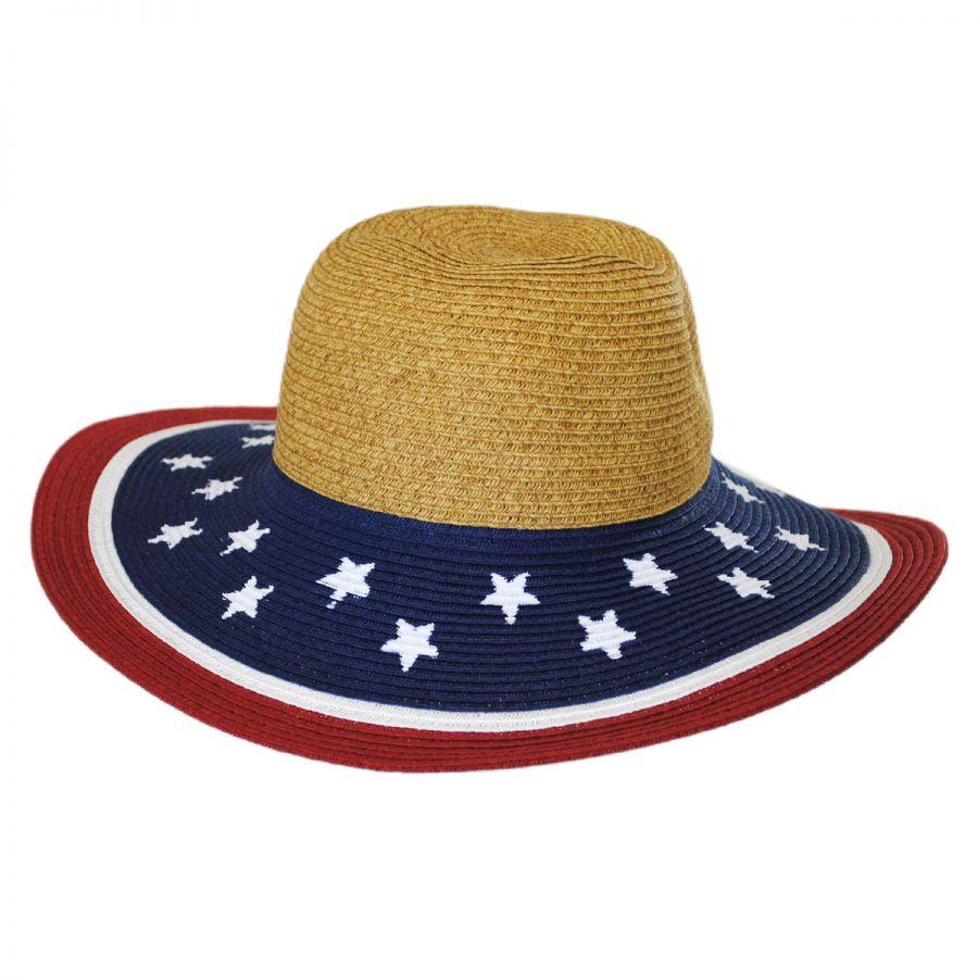 e519e0d41989b Jeanne Simmons Kids  Summer Fun Toyo Straw Sun Hat Girls