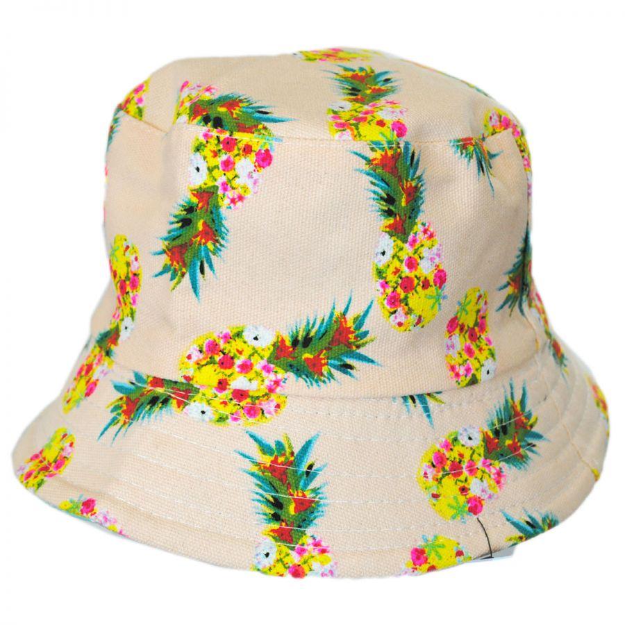 Jeanne Simmons Kids  Pineapple Bucket Hat Boys 724b895a036