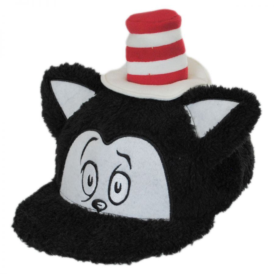 Dr. Seuss The Cat in the Hat Fuzzy Baseball Cap Animation   Superheroes f718bd8d49d