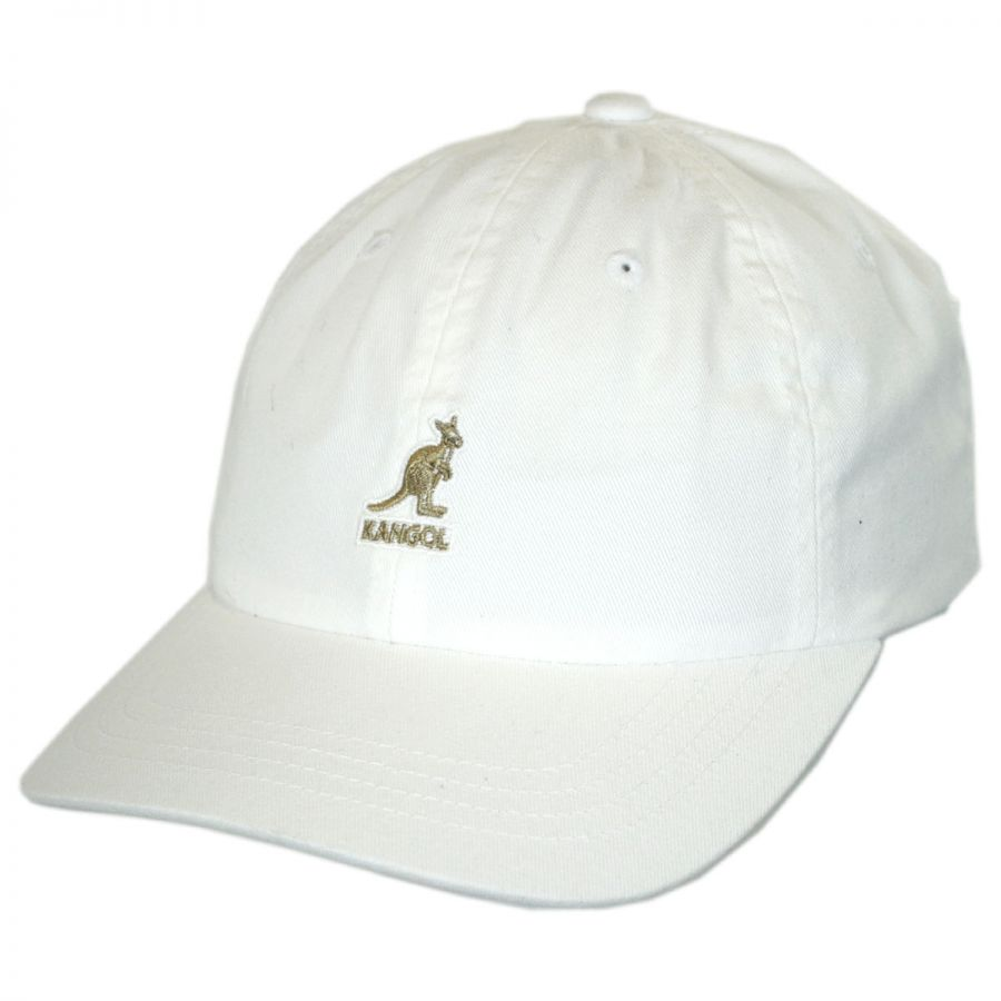 Kangol Washed Cotton Strapback Baseball Cap Dad Hat All Baseball Caps 7f46bd8e3f9b