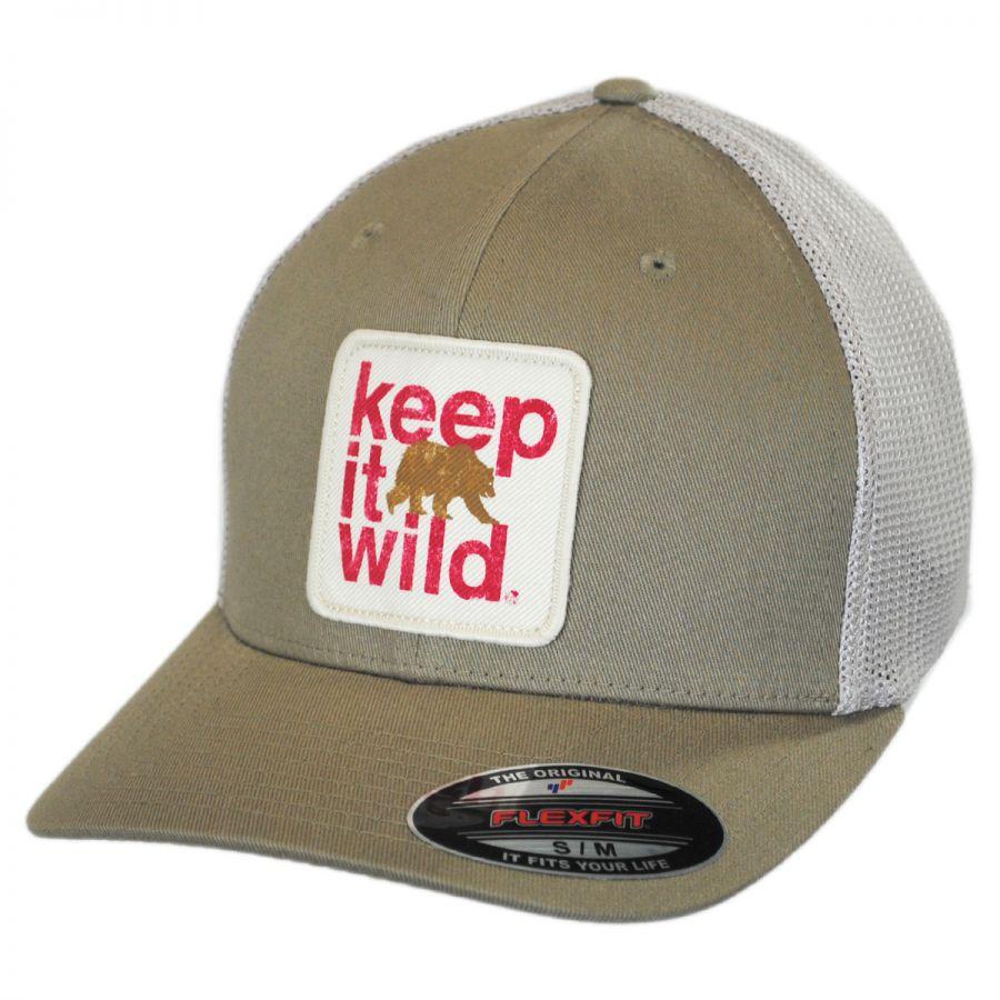 Columbia Sportswear Keep It Wild Flexfit Mesh Fitted Baseball Cap ... ceab88fb5d4