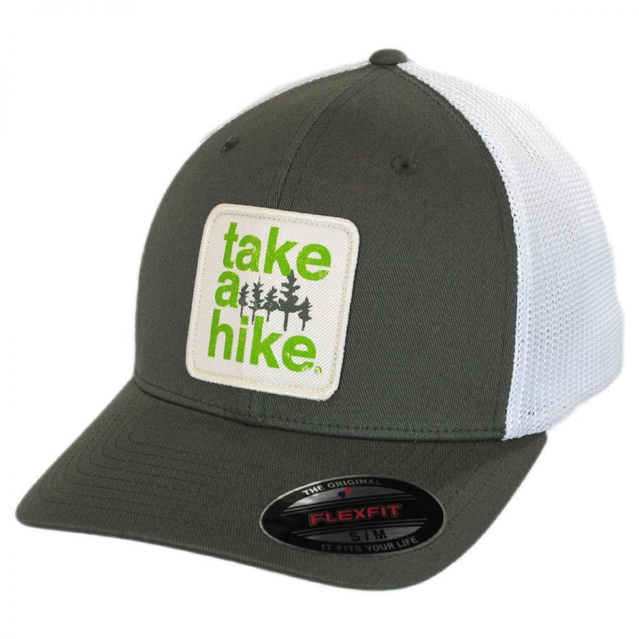 Columbia Sportswear Take a Hike Flexfit Mesh Fitted Baseball Cap ... 6ba9a5239ee