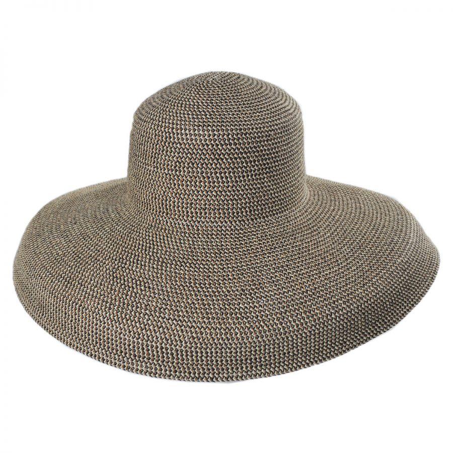 San Diego Hat Company Lampshade Toyo Straw Floppy Hat Sun Hats 2001181034a