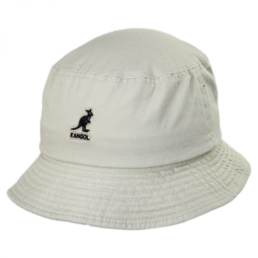 Kangol Washed Cotton Bucket Hat Bucket Hats c8cfc61e67f