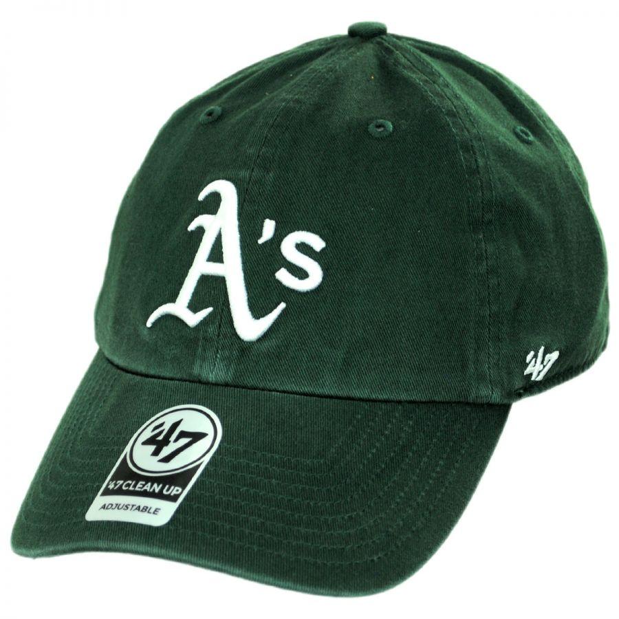 3e0c0871f Oakland Athletics MLB Clean Up Strapback Baseball Cap Dad Hat II