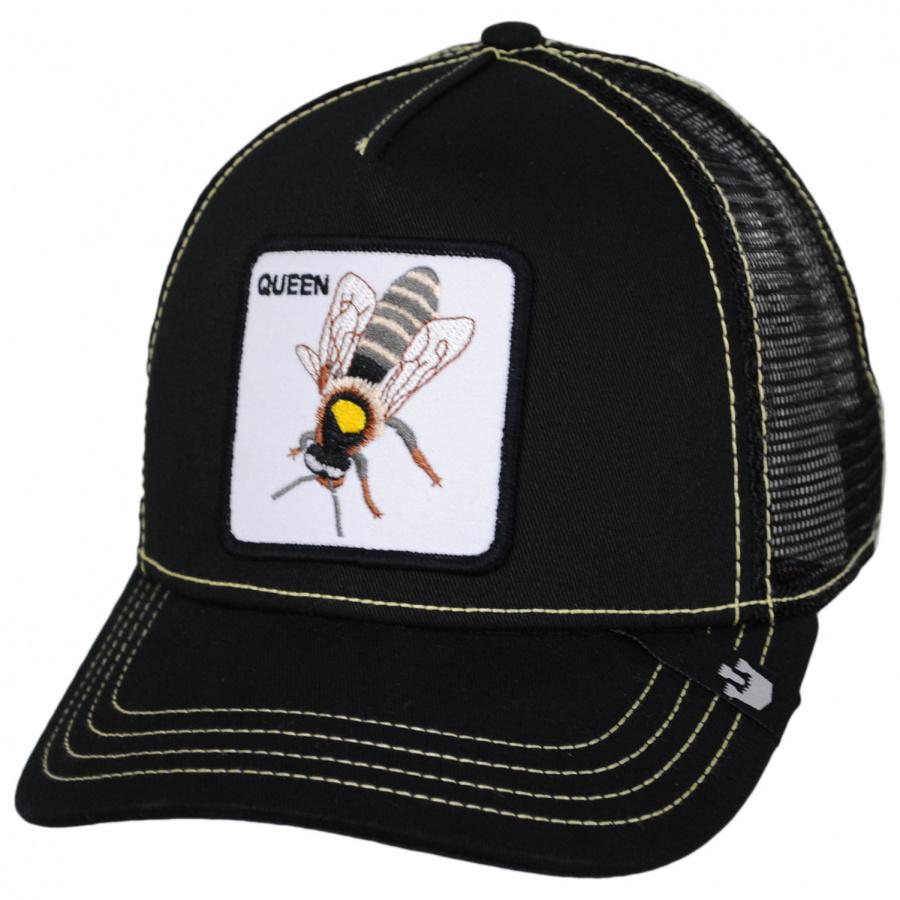 Goorin Bros Queen Bee Mesh Trucker Snapback Baseball Cap Snapback Hats cdaf7865a40