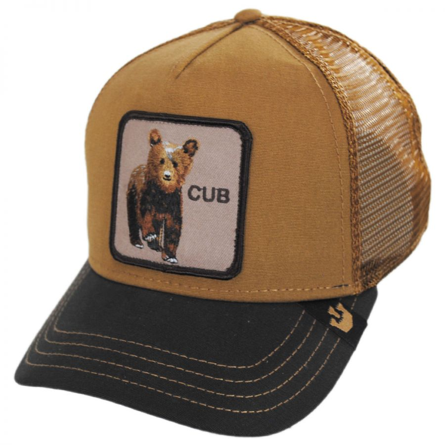 531440d1fc7f8 Goorin Bros Cub Mesh Trucker Snapback Baseball Cap Snapback Hats