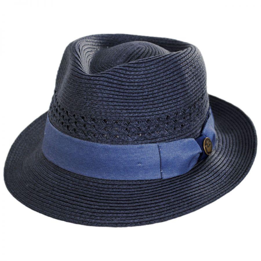 Goorin Bros Boogie Vent Toyo Straw Fedora Hat Straw Fedoras b0e0e9b9031