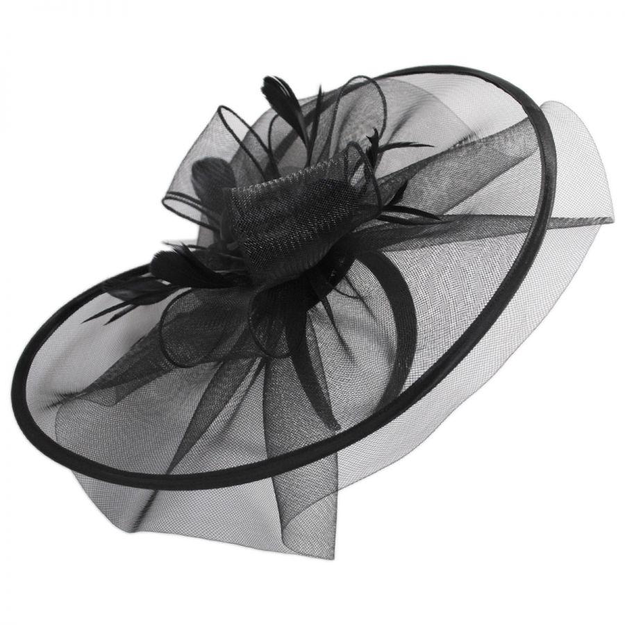 Scala Crinoline Mesh Fascinator Headband