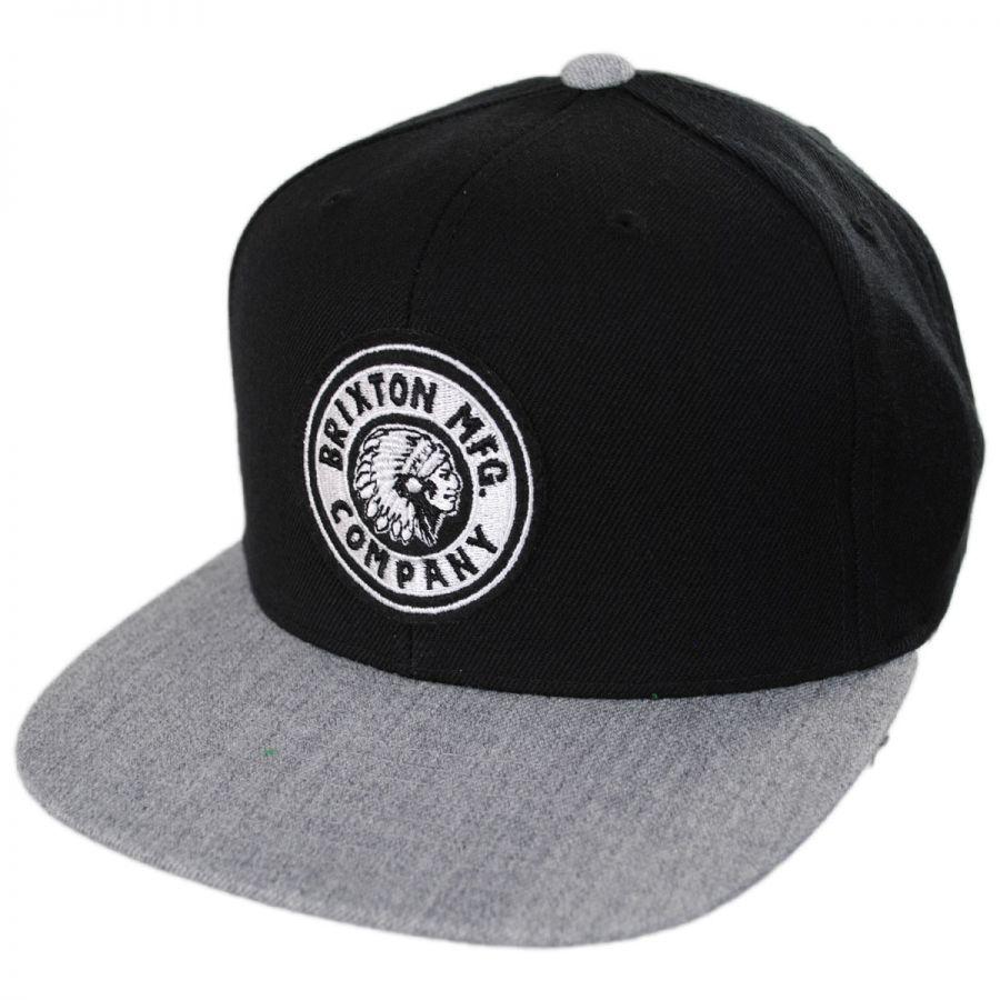 Brixton Hats Rival Snapback Baseball Cap Snapback Hats 0d39430115c