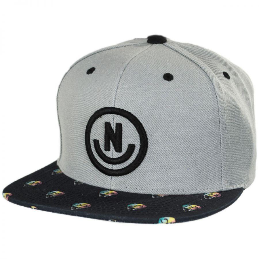 Neff Daily Smile Pattern Snapback Baseball Cap Snapback Hats ece538f60378