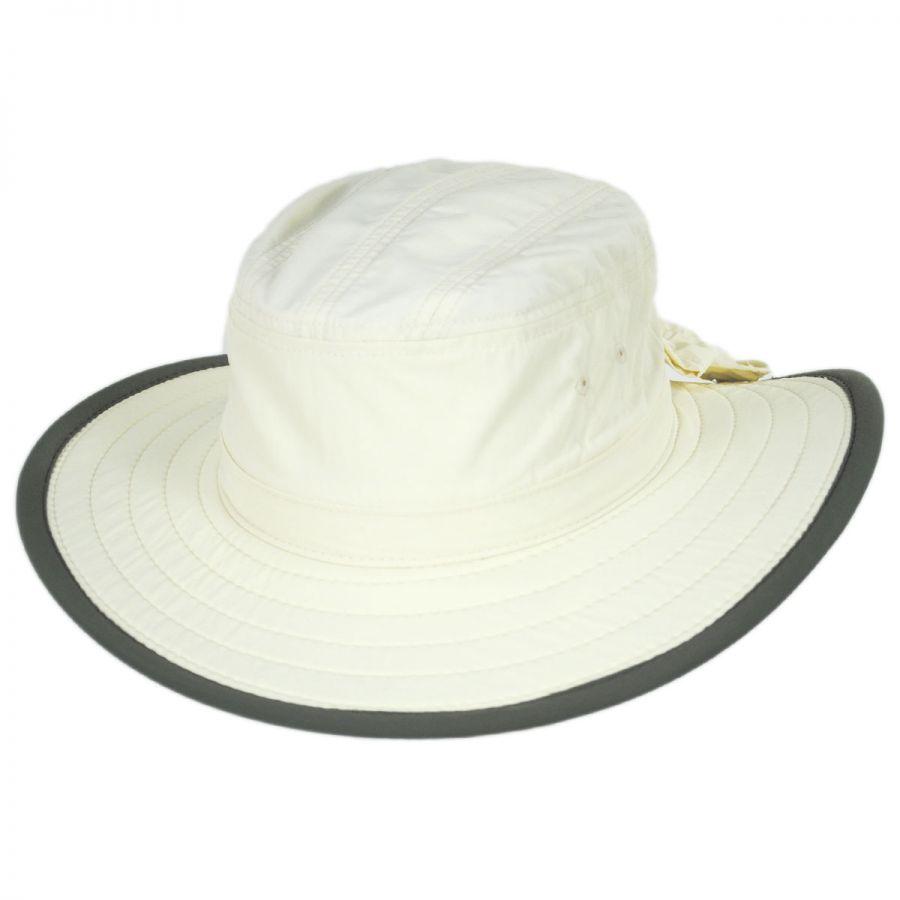 Dorfman Pacific Company Bow Supplex Boonie Hat Sun Protection bb93a1e4d8b5