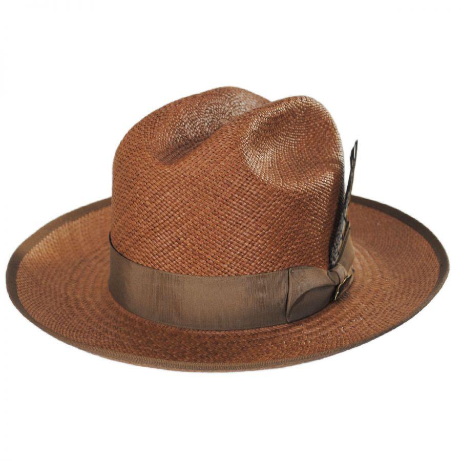 Biltmore Baines Grade 8 Panama Straw Cattleman Western Hat Panama Hats 77351d398c7