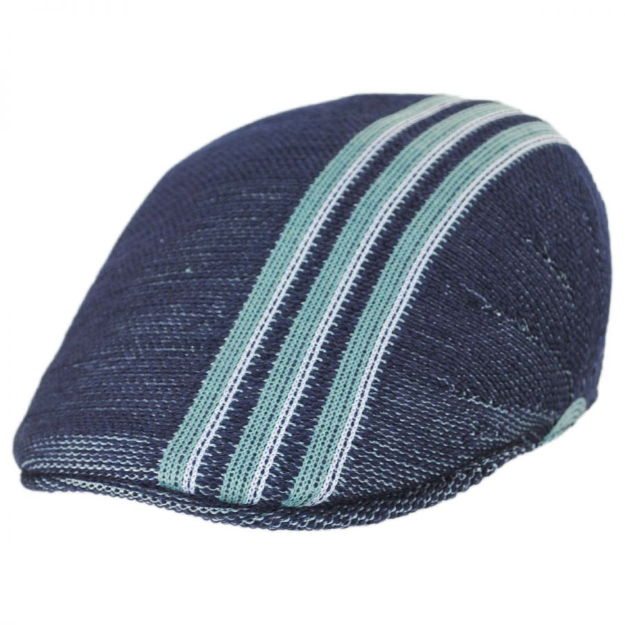 Kangol Travel Stripe 507 Ivy Cap Duckbills 7bc88d16d0c