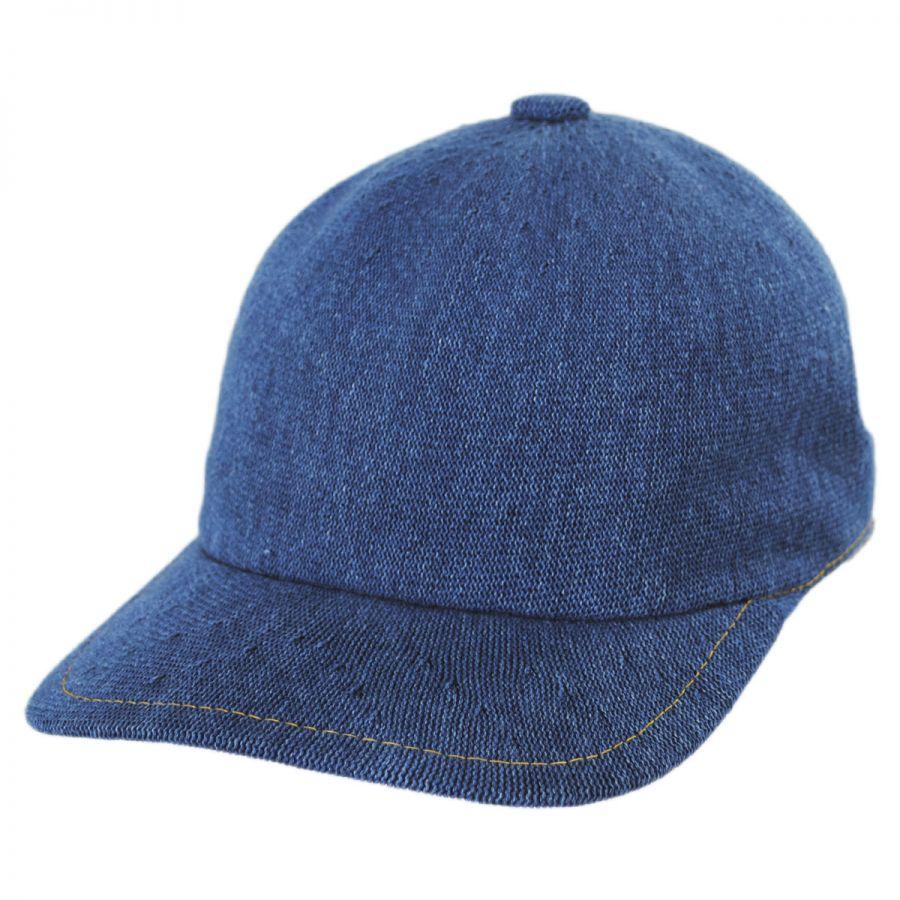 Kangol Indigo Spacecap Strapback Baseball Cap Dad Hat Blank Baseball ... 0906cecb614