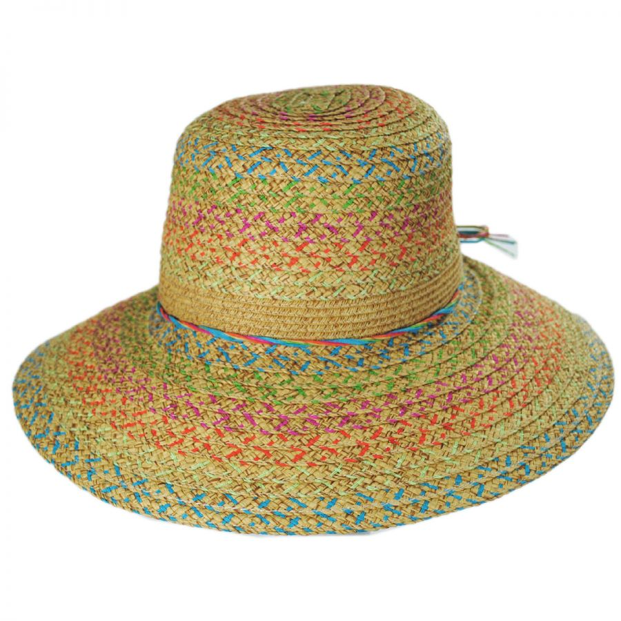 Jeanne Simmons Prismatic Toyo Straw Sun Hat Sun Hats 470cb9f3bc8