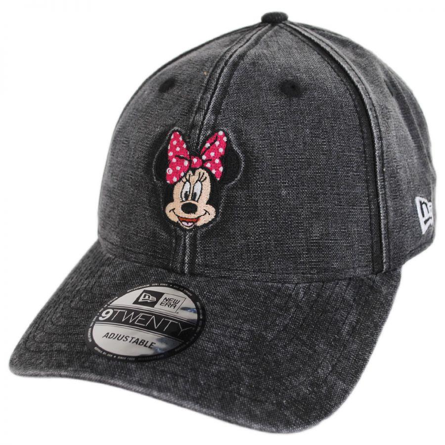 Disney Minnie Mouse Rugged 9Twenty Strapback Baseball Cap Dad Hat alternate  view 1 cadbe2a0215