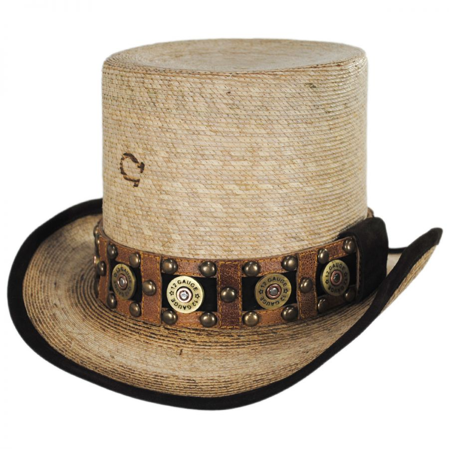 Charlie 1 Horse Quick Draw Palm Leaf Straw Top Hat Top Hats 599f0a8c2