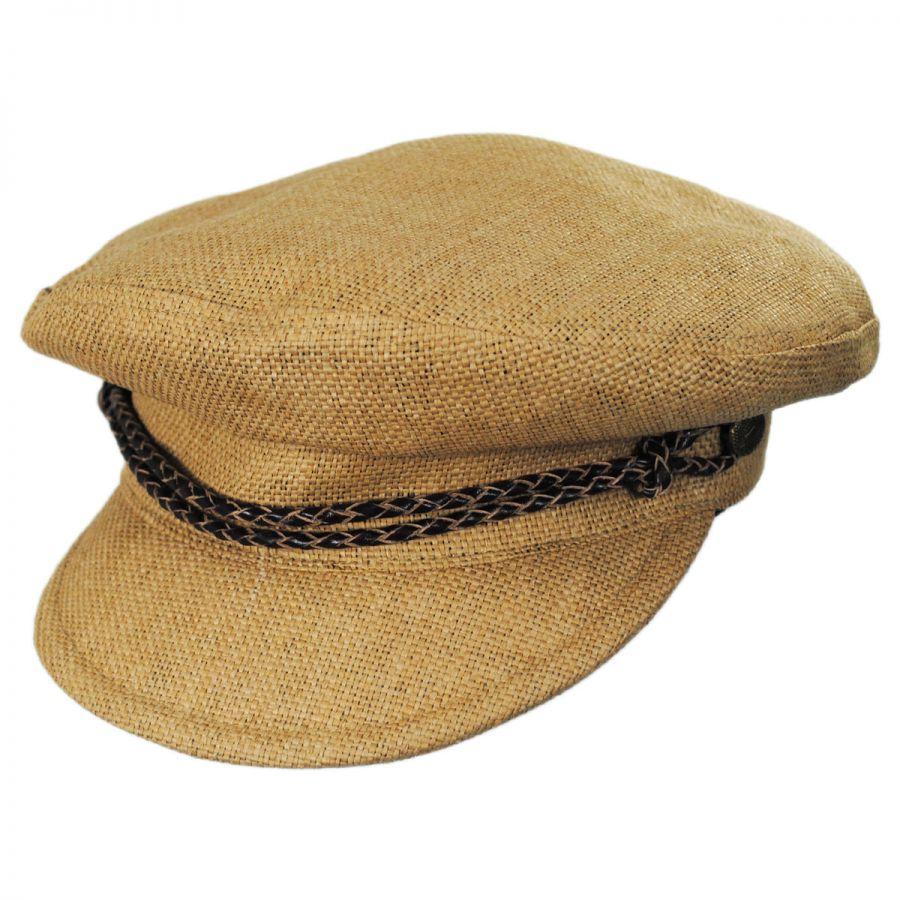 6a3a9bac84466 Brixton Hats Kayla Straw Fiddler Cap Casual Hats