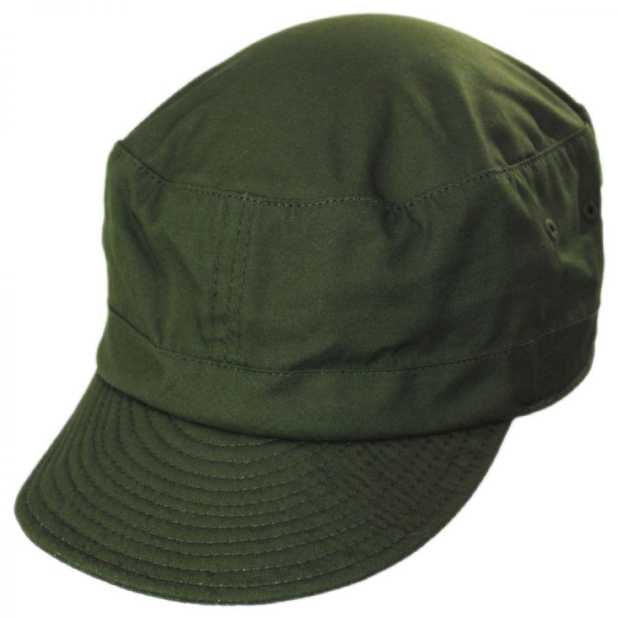 120822cf30533 Brixton Hats Brigade Cotton Cadet Cap Cadet Caps