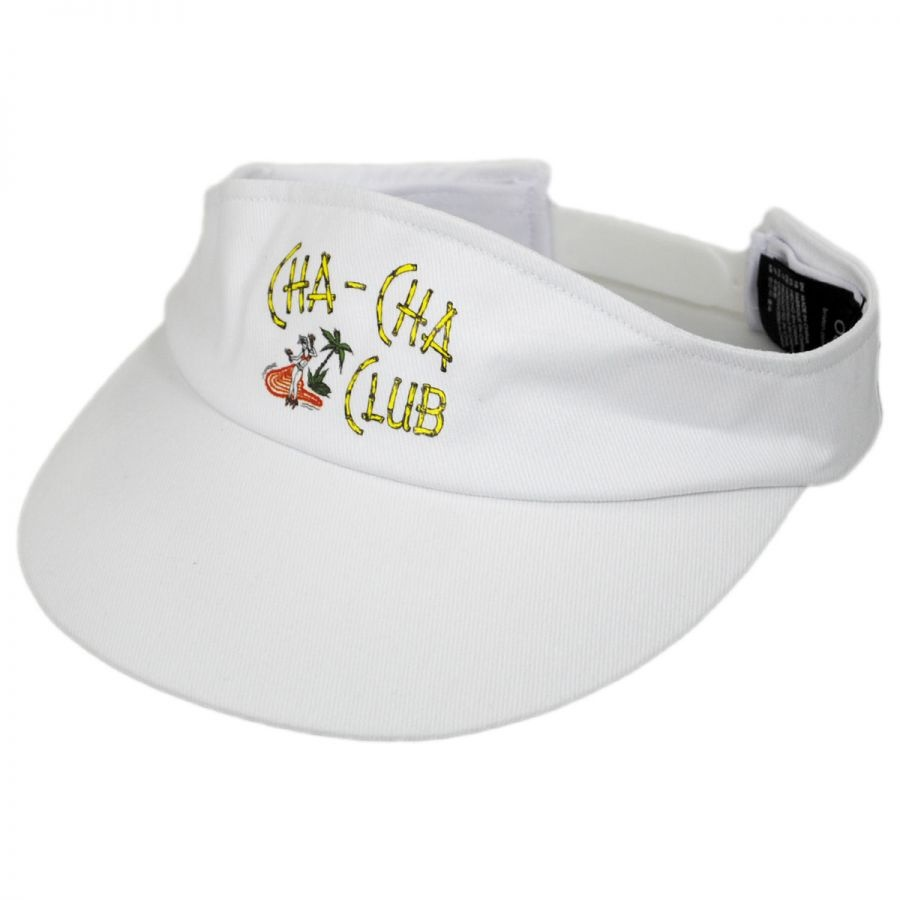 Brixton Hats Cha-Cha Cotton Adjustable Visor Visors 6d1579bba37