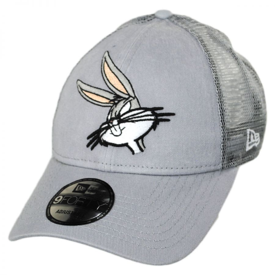 Looney Tunes Bugs Bunny 9Forty Trucker Snapback Baseball Cap alternate view  1 12d7390bbbd