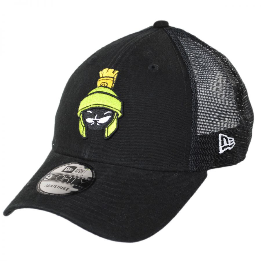 Looney Tunes Marvin the Martian 9Forty Trucker Snapback Baseball Cap  alternate view 1 c1d875d4bca