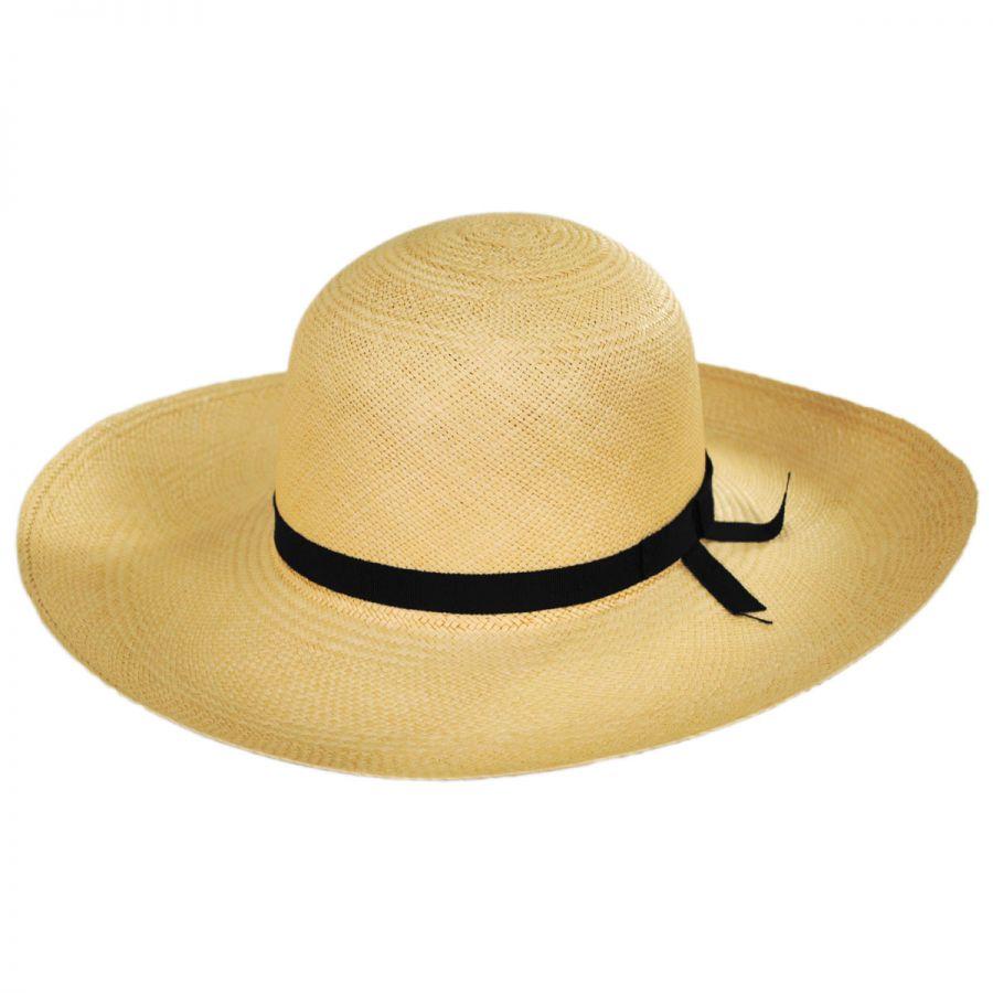 Pantropic Madeline Panama Straw Swinger Hat Straw Panamas 9a9e466de5c