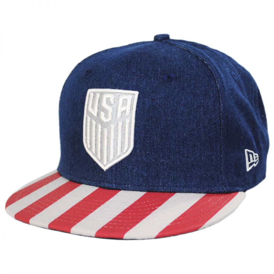 US Soccer Fully Flagged 9Fifty Snapback Baseball Cap alternate view 1 51b441aabd0