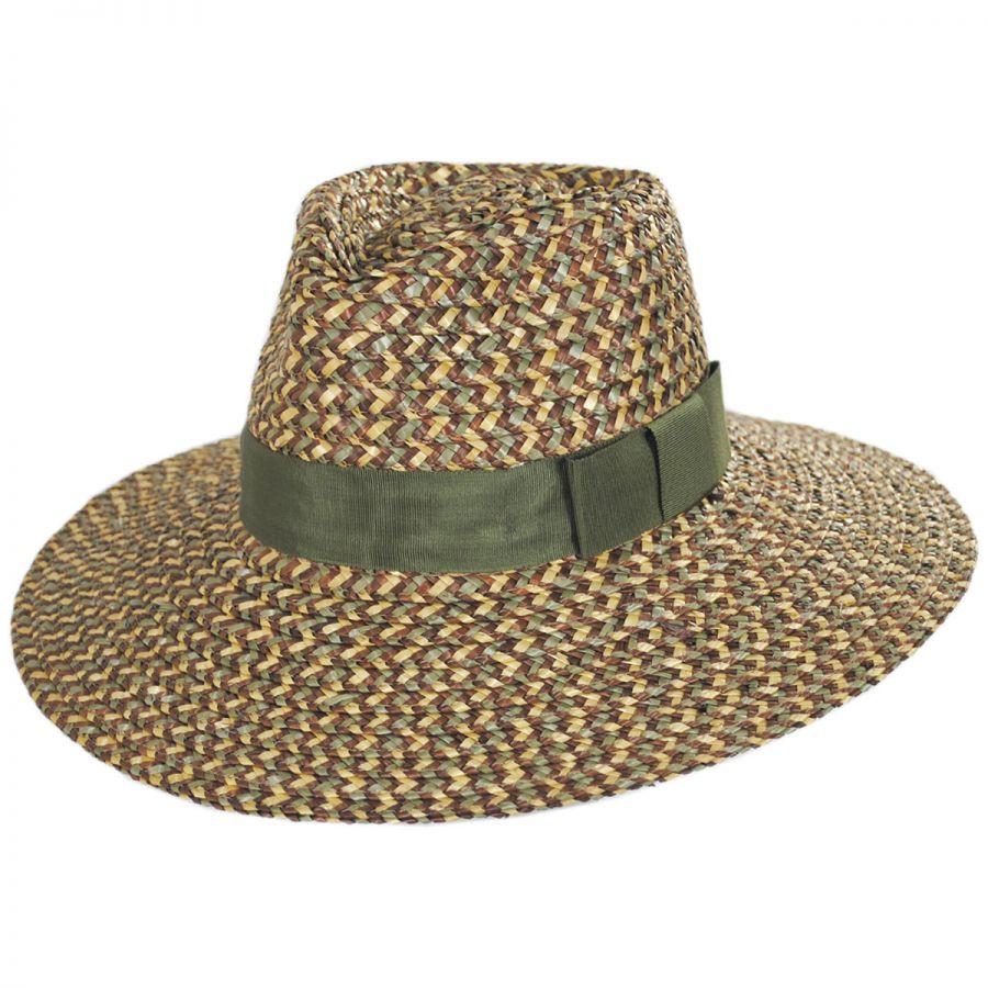 Brixton Hats Joanna Straw Fedora Hat Straw Fedoras 5ba9a3045
