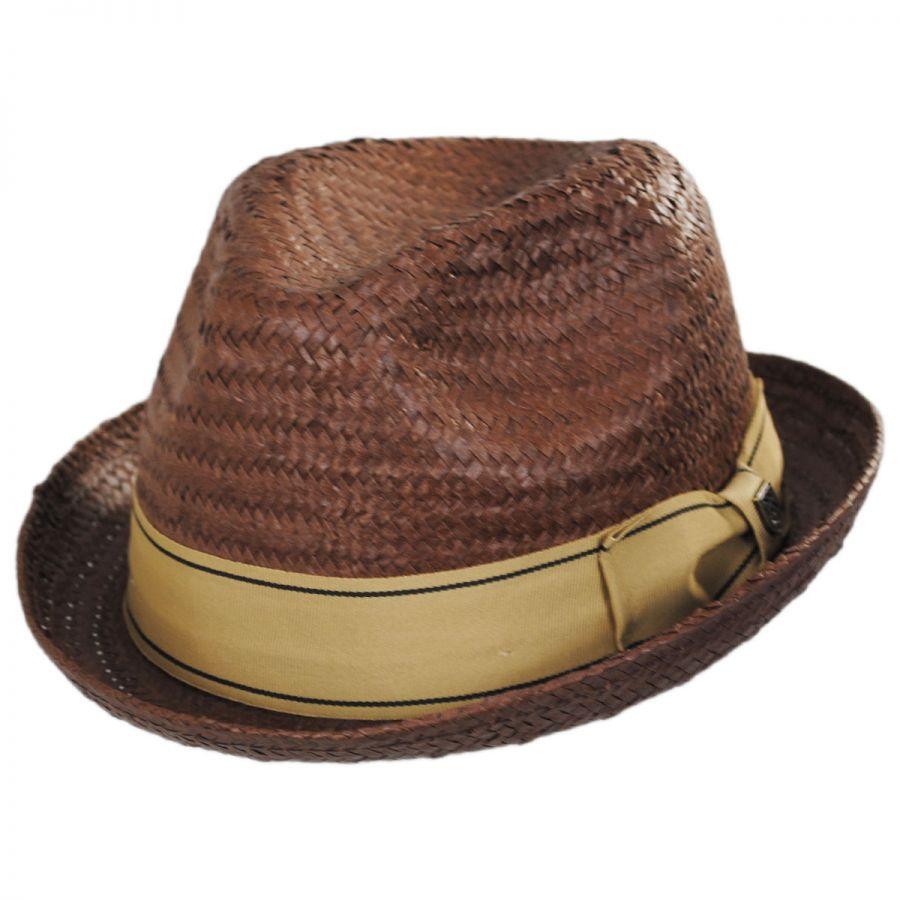 1ee7151de3f1e Brixton Hats Castor Toyo Straw Fedora Hat All Fedoras